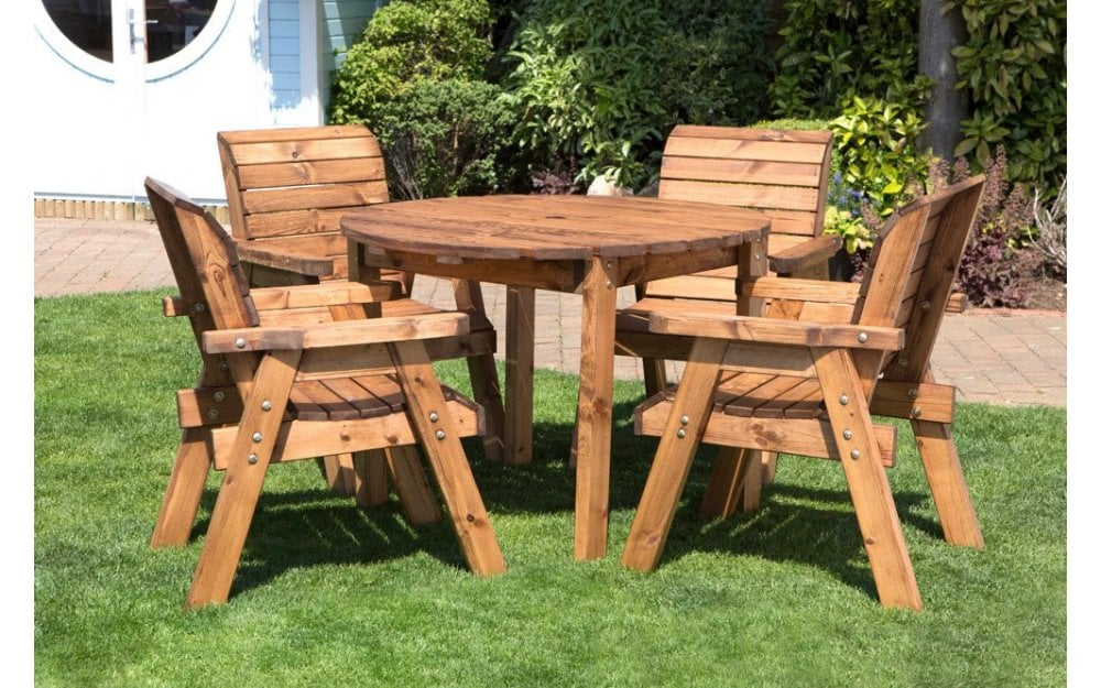 charles taylor garden furniture the charles taylor 4 seater table set