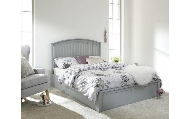 Enjoyable Raffertys Furniture The Shaker Ottoman Bed Frame Ibusinesslaw Wood Chair Design Ideas Ibusinesslaworg